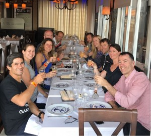 13 happy faces post Ironman Marbella 70.3
