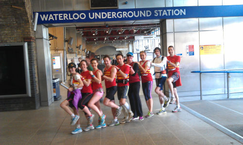 Jubilee Line team at Waterloo