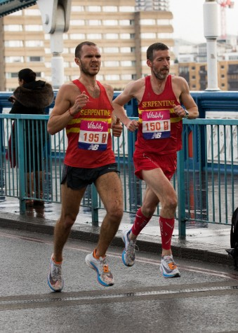 Will Green and Chris Oddy at The Big Half 2018