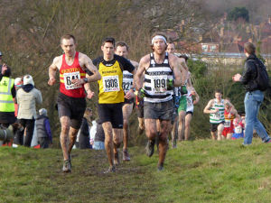 Horsenden Hill - leading men's pack