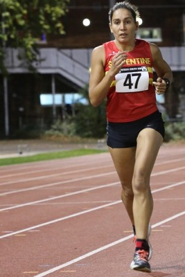 Rhi Needham at the VAC 10,000 Champs
