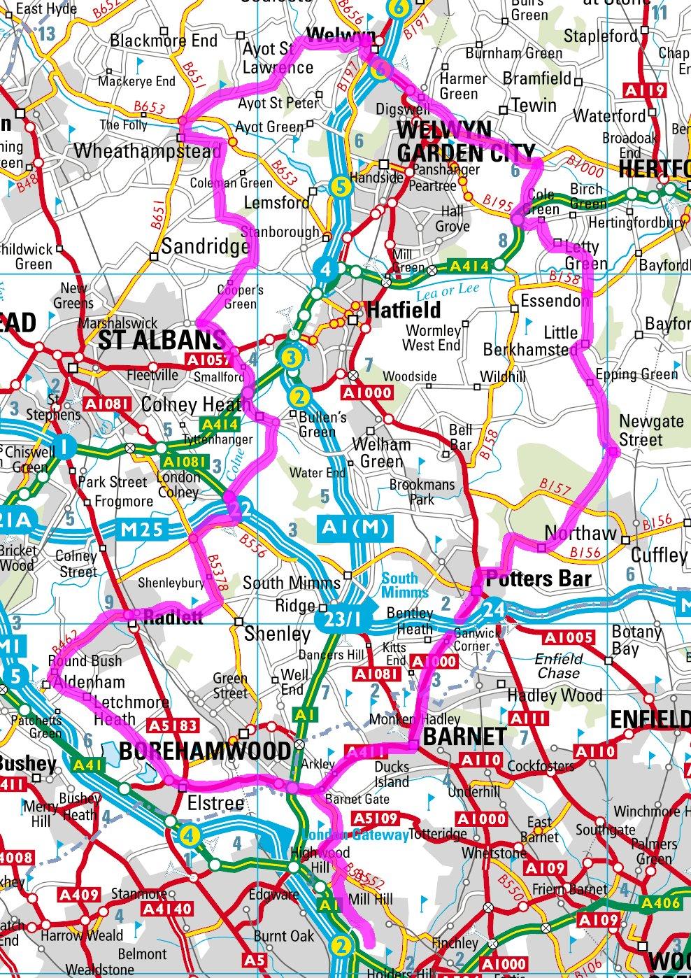 Serpentine Running Club Triathlon Hertfordshire 85k