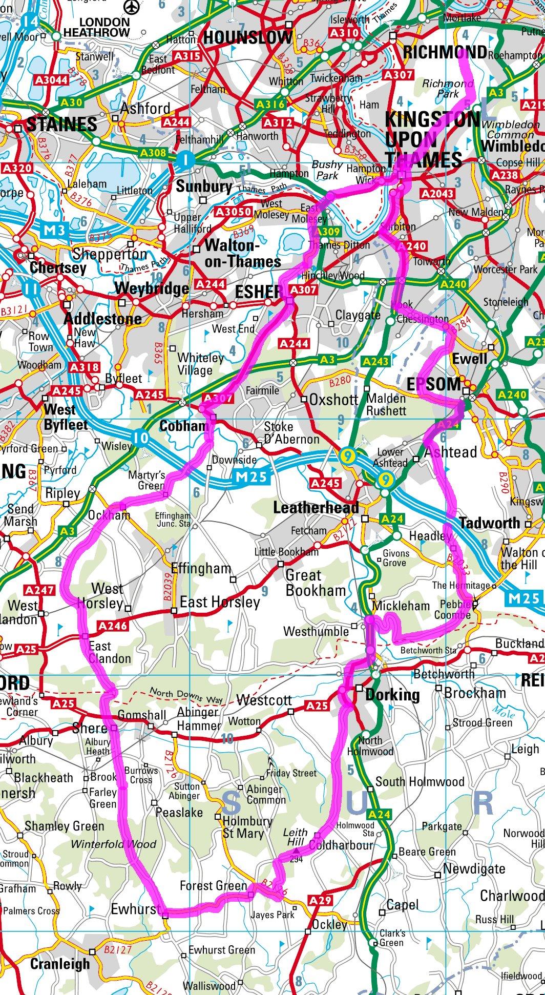 Richmond Park Cycling >> Serpentine Running Club - Triathlon - The Surrey Hills (98k)