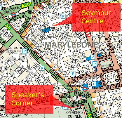 Seymour Centre and Speakers Corner