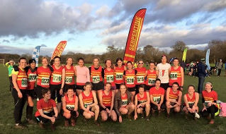 Women's team at Uxbridge
