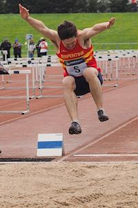 Miles in SAL long jump