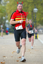 Devil at the Jekyll and Hyde Park duathlon