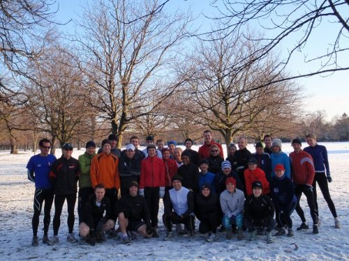 Midwinter session in Greenwich Park
