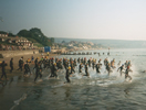 Swanage swim start