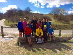 Serpie trail runners at Ivinghoe Beacon