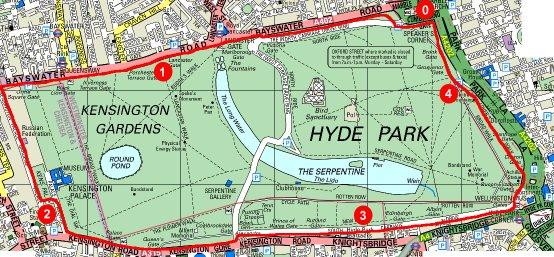 Serpentine Running Club Running Two Parks Eve