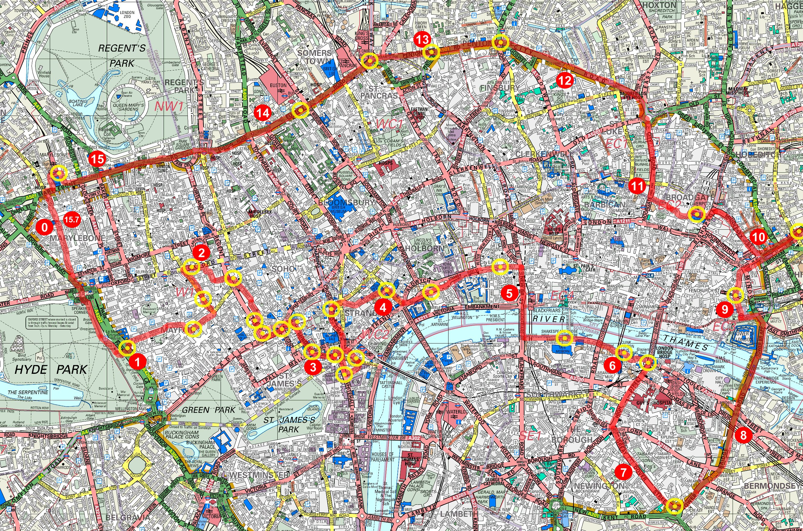 Serpentine running club running monopoly run large scale map publicscrutiny Image collections
