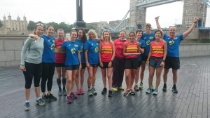Picture from RUN LONDON RELAY *SERPIE TAKEOVER* JULY 14